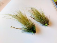 Chowtime Sculpin, totally synthetic and designed for swinging.