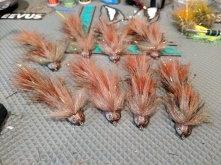 Strolis' Headbanger Sculpins - 6 of these are going to a local shop.