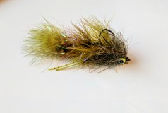 Chowtime Sculpin 2.0, with the main hook up front and 2 articulated shanks in the back