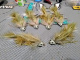 Strolis' Headbanger Sculpins to fill an order for a local fly shop.
