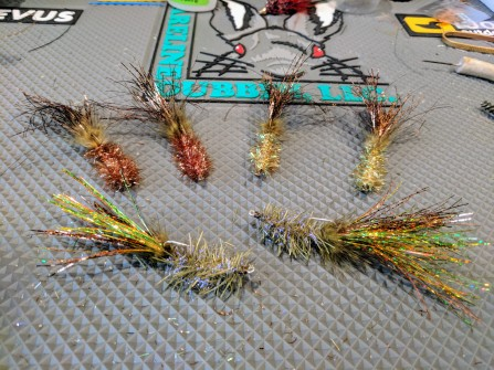 Murdich Wigglers in different colors.