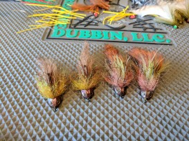 Some Beast Bait variations with a sculpin helmet.