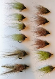 239 Flies A2Z minnows - freshwater versions
